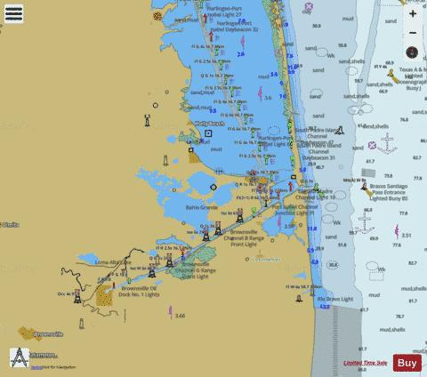 STOVER POINT TO PORT BROWNSVILLE SIDE A Marine Chart - Nautical Charts App
