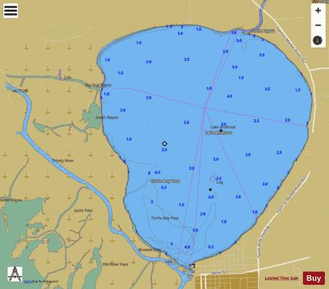 GALVESTON BAY SIDE A EXTENSION 1 Marine Chart - Nautical Charts App