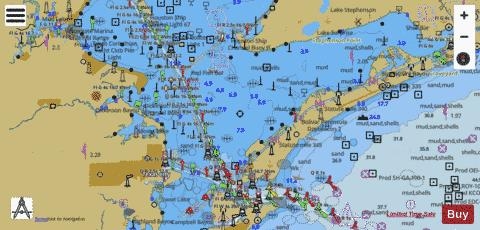 GALVESTON BAY SIDE C Marine Chart - Nautical Charts App