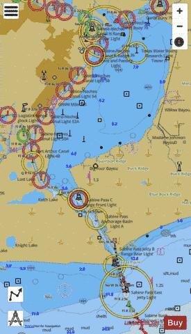 SABINE P AND LAKE (Marine Chart : US11342_P76)   Nautical ... on york river on us map, hudson river on us map, delaware river on us map, ottawa river on us map, chattahoochee river on us map, james river on us map, cumberland river on us map, st. lawrence river on us map, rappahannock river on us map, mohawk river on us map, susquehanna river on us map, san joaquin river on us map, cape fear river on us map, tippecanoe river on us map, trinity river on us map, monongahela river on us map, wisconsin river on us map, tennessee river on us map, shenandoah river on us map, canadian river on us map,