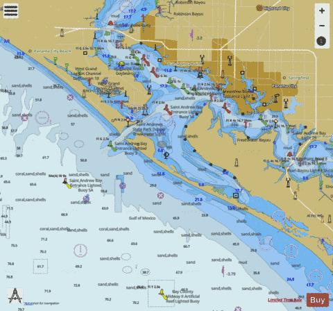 ST ANDREW BAY Marine Chart - Nautical Charts App