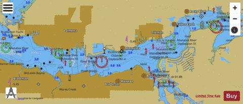 MANATEE RIVER EXTENSION Marine Chart - Nautical Charts App