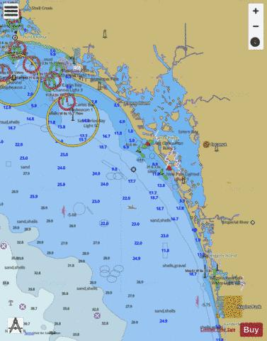 FORT MYERS TO CHARLOTTE HARBOR and WIGGINS PASS Marine Chart - Nautical Charts App