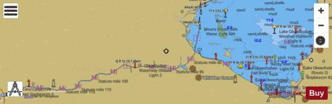 ST LUCIE INLET TO FORT MYERS AND LAKE OKEECHOBEE Marine Chart - Nautical Charts App