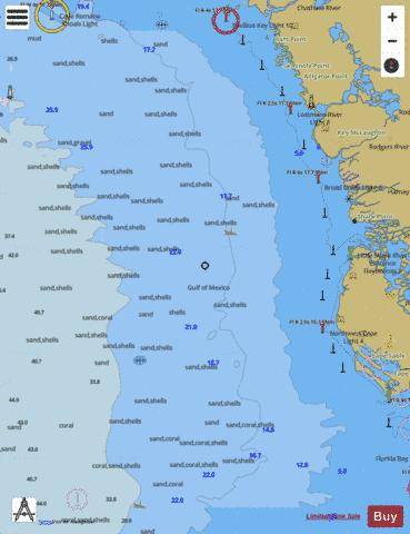 EAST CAPE TO MORMON KEY Marine Chart - Nautical Charts App