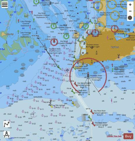 KEY WEST HARBOR (Marine Chart : US11447_P327) | Nautical Charts App