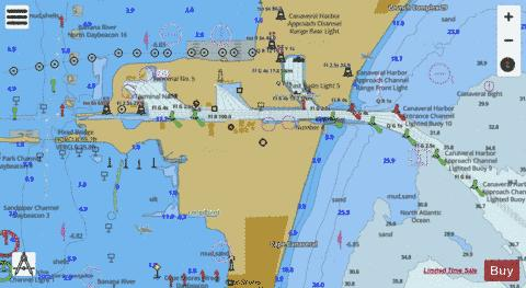 PORT CANAVERAL Marine Chart - Nautical Charts App