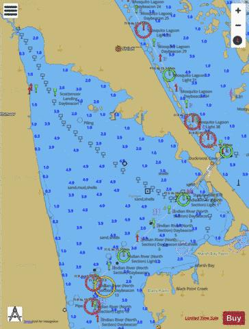 TOLOMATO RIVER TO PALM SHORES II-JJ Marine Chart - Nautical Charts App