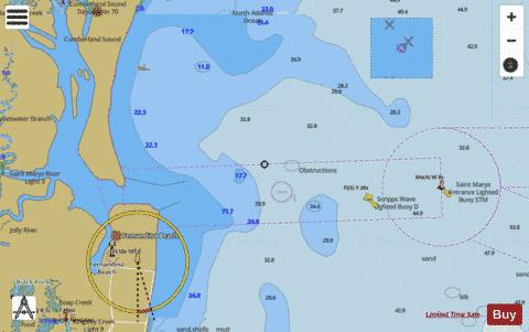 ST MARYS ENTRANCE-CUMBERLAND SOUND AND KINGS BAY Marine Chart - Nautical Charts App