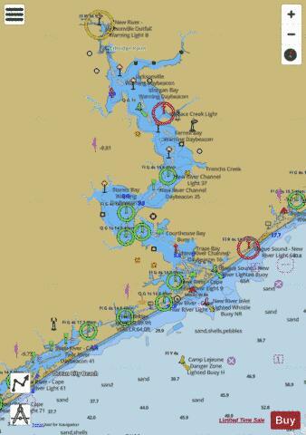 NEW RIVER (Marine Chart : US11542_P506) | Nautical Charts App