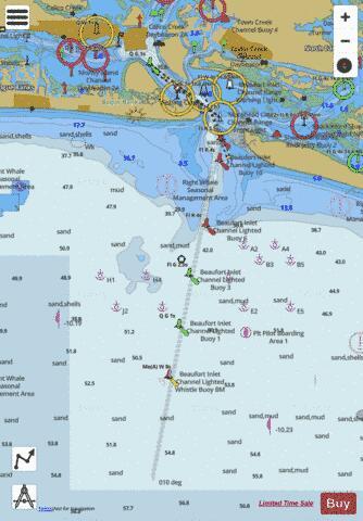 MOREHEAD CITY HARBOR (Marine Chart : US11547_P511) | Nautical Charts App