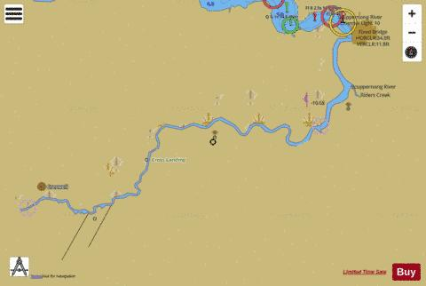 SCUPPERNONG RIVER EXTENSION Marine Chart - Nautical Charts App