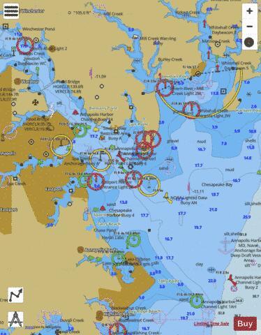 nautical charts annapolis md - Bobi.karikaturize.com