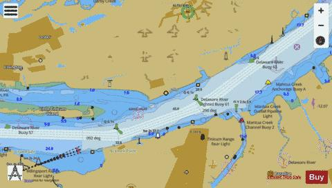 CONTINUATION TO BRAMELL POINT Marine Chart - Nautical Charts App