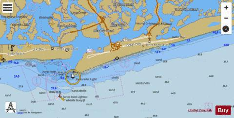 JONES INLET TO STATE BOAT CHANNEL  LONG ISLAND NY Marine Chart - Nautical Charts App