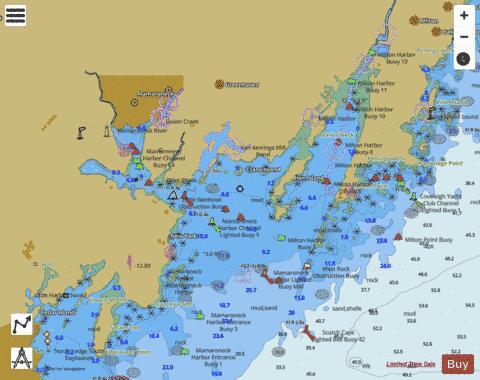 MAMARONECK HARBOR INSET 9 (Marine Chart : US12364_P2203) | Nautical