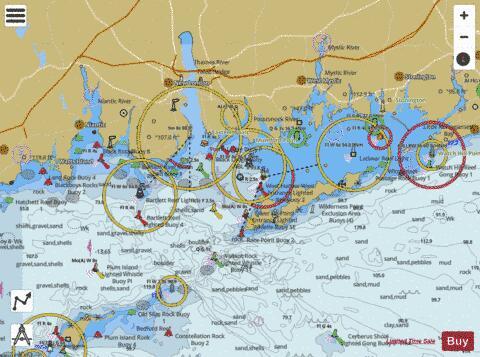 Long Island Sound Ri Conn Marine Chart Nautical Charts