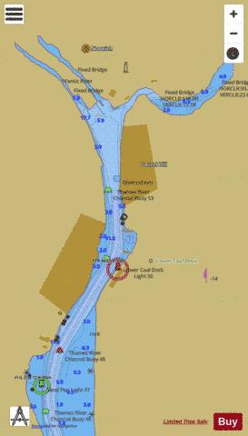 NORWICH EXTENSION Marine Chart - Nautical Charts App
