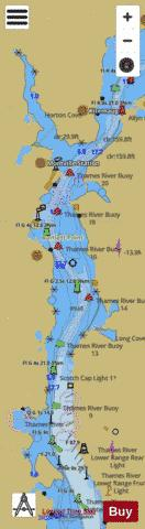 THAMES RIVER EXTENSION - RIGHT PANEL Marine Chart - Nautical Charts App
