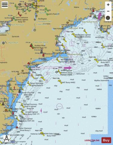CAPE SABLE TO CAPE HATTERAS Marine Chart - Nautical Charts App
