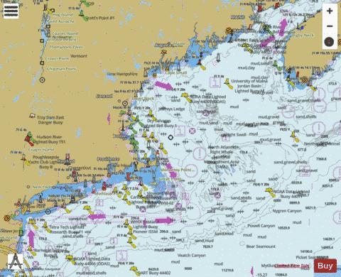 WEST QUODDY HEAD TO NEW YORK-EAST COAST Marine Chart - Nautical Charts App