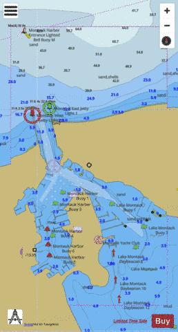 MONTAUK HARBOR Marine Chart - Nautical Charts App