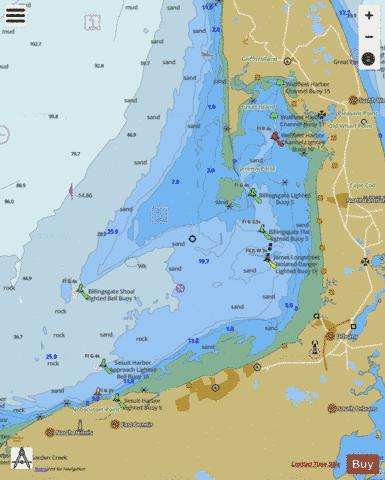 WELLFLEET HARBOR  MA Marine Chart - Nautical Charts App