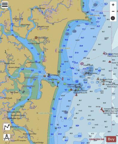Hampton Harbor Inset Marine Chart Us13278p2070 Nautical