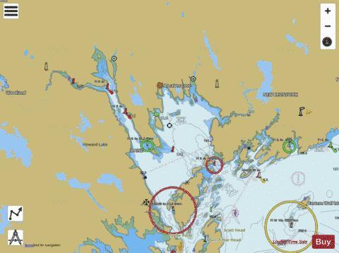 PASSAMAQUODDY BAY AND ST  CROIX RIVER (Marine Chart : US13398_P2896