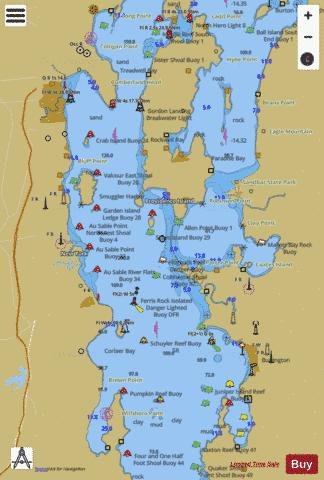 Lake Champlain Berland Head To Four Brothers Islands Marine Chart Nautical Charts