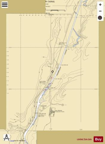 CHAMPLAIN CANAL - COMSTOCK Marine Chart - Nautical Charts App
