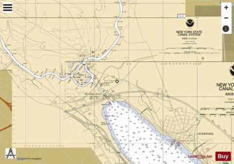 ONONDAGA LAKE - SENECA RIVER Marine Chart - Nautical Charts App