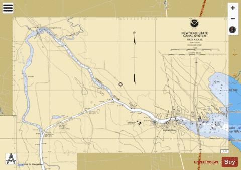 ONEIDA RIVER - ONEIDA LAKE Marine Chart - Nautical Charts App