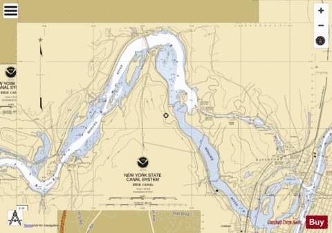 MOHAWK RIVER - WATERFORD Marine Chart - Nautical Charts App