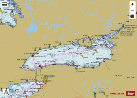 LAKE ONTARIO (Marine Chart : US14800_P1112) | Nautical ...