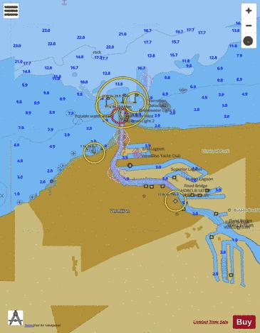 VERMILION OHIO INSET (Marine Chart : US14826_P1150) | Nautical