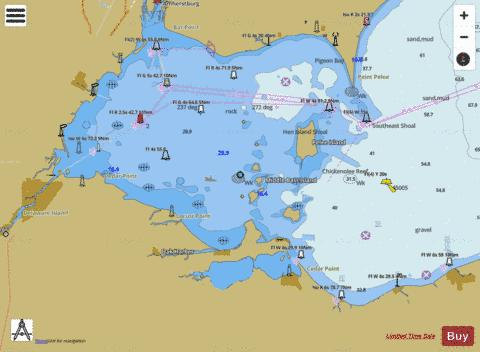 WEST END OF LAKE ERIE Marine Chart - Nautical Charts App