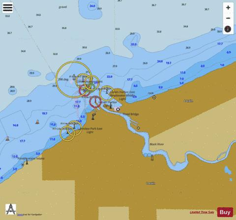 LORAIN HARBOR OHIO Marine Chart - Nautical Charts App