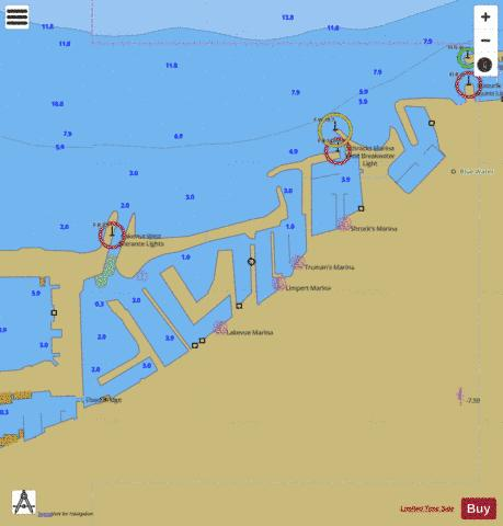 HARBOR PLANS INSET 34 Marine Chart - Nautical Charts App