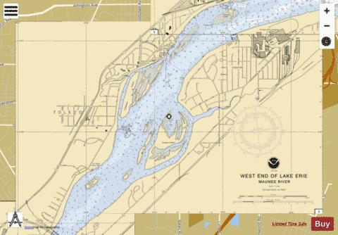 WEST END OF LAKE ERIE PAGE 3 Marine Chart - Nautical Charts App