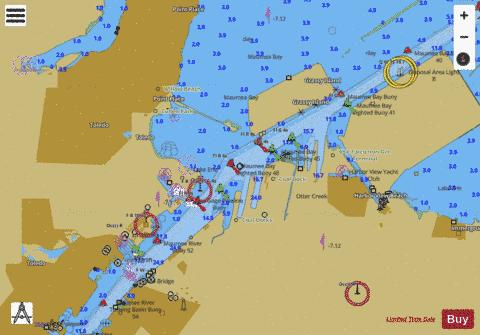 WEST END OF LAKE ERIE PAGE 6 Marine Chart - Nautical Charts App