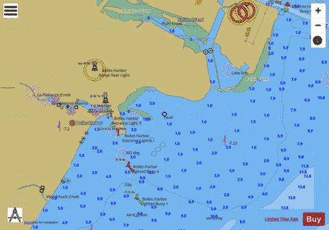 WEST END OF LAKE ERIE PAGE 14 Marine Chart - Nautical Charts App
