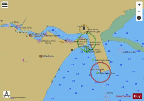 WEST END OF LAKE ERIE PAGE 15 Marine Chart - Nautical Charts App