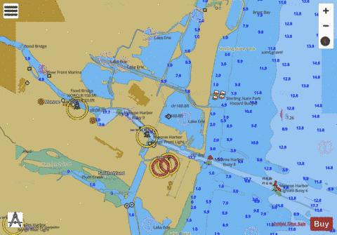 WEST END OF LAKE ERIE PAGE 16 Marine Chart - Nautical Charts App
