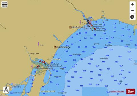 WEST END OF LAKE ERIE PAGE 18 Marine Chart - Nautical Charts App