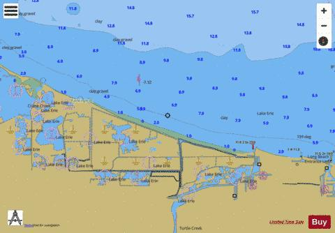 WEST END OF LAKE ERIE PAGE 29 Marine Chart - Nautical Charts App