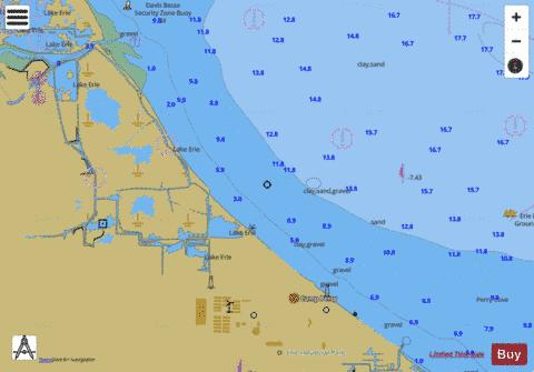 WEST END OF LAKE ERIE PAGE 31 Marine Chart - Nautical Charts App