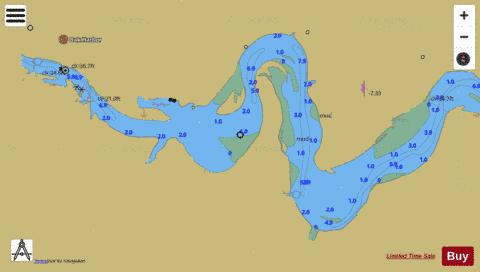 WEST END OF LAKE ERIE PAGE 32 EXTENSION Marine Chart - Nautical Charts App