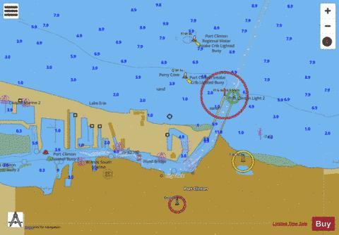 WEST END OF LAKE ERIE PAGE 35 Marine Chart - Nautical Charts App