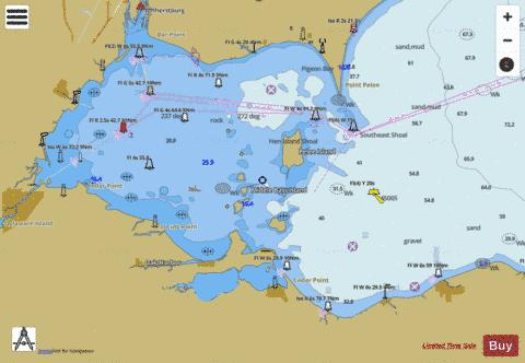 WEST END OF LAKE ERIE PAGE 36 Marine Chart - Nautical Charts App